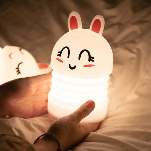 DC003 Jumping rabbit silicone night light