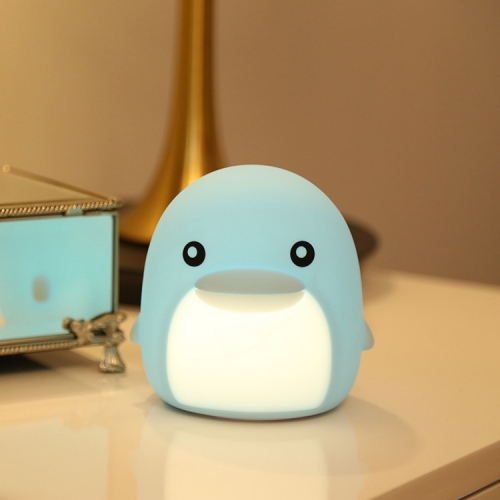 DB004 dolphin animal silicone night light